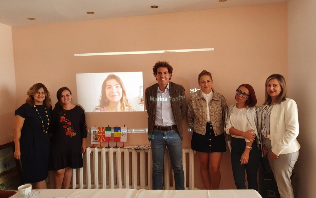 Transnational meeting in Romania within the Youth Employment Initiative (YEI) project